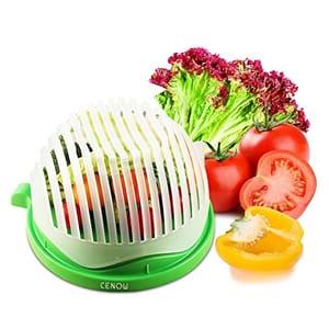 SAVE 50%!!! Salad Cutter Bowl - Make Salad in 60 Seconds