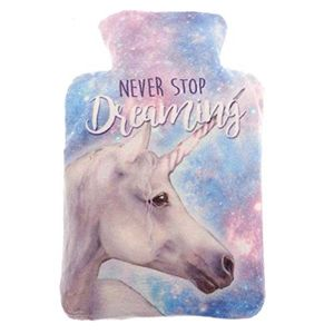 Microwave Wheat Bag Warmer Plush Velour (Dreaming Unicorn) - £2 Delivery