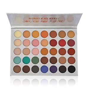 Beauty Glazed Eyeshadow Palette Matte and Shimmer Professional