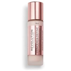 Revolution Conceal and Define Foundation F0.5