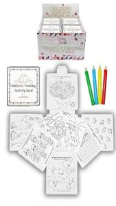 12 Wedding Favour Childrens Activity Packs