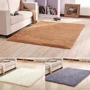 Soft Fluffy Indoor Area Rug
