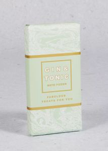 Gin and Tonic Bath Fizzer