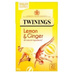 Twinings Lemon & Ginger 20 Tea Bags
