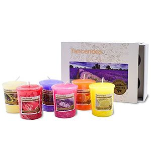 Scented Candle Gift Set with Floral & Fruity Fragrance Candle