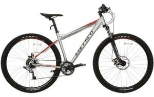"Carrera Hellcat Mens Mountain Bike - Silver - 16"" Frame"
