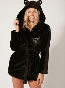 Black Cat Dressing Gown