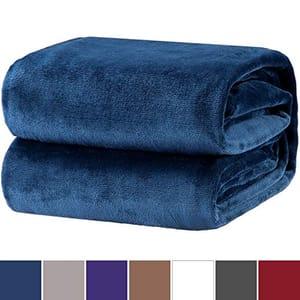 Bedsure Flannel Fleece Throw Blankets