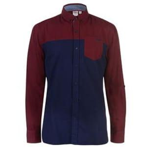 Lee Cooper Long Sleeve Casual Shirt Mens