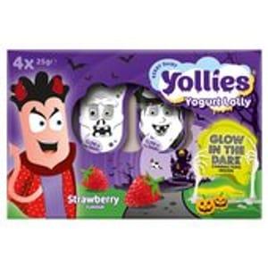 Yollies Strawberry Kids Yogurt 100g