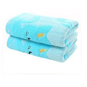 Cute Cat Musical Note Child Soft Towel FREE DELIVERY