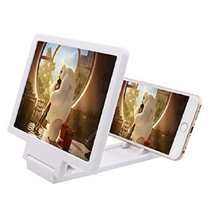 3D Phone Screen Magnifier 8.2 Inch Stereoscopic Movies Amplifying Desktop