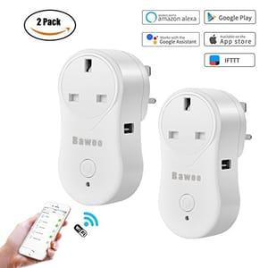 WiFi Smart Plug UK 2 Pack