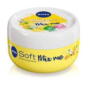 NIVEA Soft Mix Me I Am the Exotic One, 100ml, Yellow