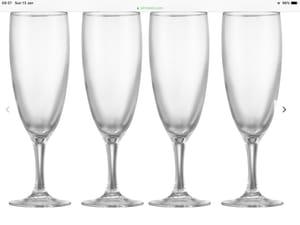 John Lewis & Partners the Basics Champagne Flutes, Set of 4