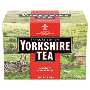 YORKSHIRE Teabags. 160 Pack