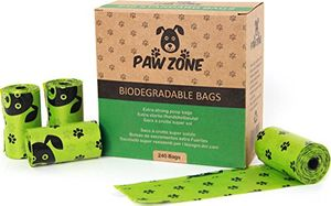 Paw Zone Biodegradable Dog Poo Bags