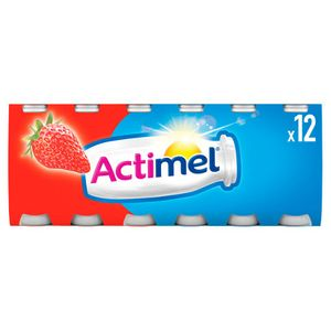 Actimel Strawberry Yogurt Drinks