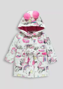 Kids Disney Minnie Mouse Dressing Gown 3mths 6yrs 8 At Matalan