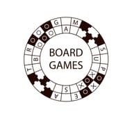 Board-game logo