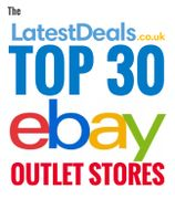 Top 30 eBay Outlet Stores UK — 90% Discount