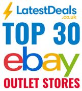 Top 30 eBay Outlet Stores UK - up to 90% Discount