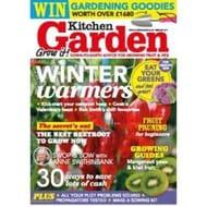 3 x Kitchen Garden magazine + FREE 20 packets of seeds