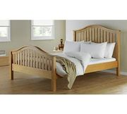 Collection Newbridge Double Bed Frame - Oak Stain