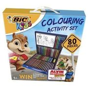 Bic Kids Colouring Activity Set 80 Pieces + Win A Holiday In Spain