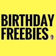 The Ultimate List of Birthday Freebies
