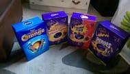 Cadburys large easter eggs half price