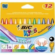 Bic Kids Plastidecor Triangle Colouring Crayons 12pk Half Price at Wilko