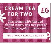 Treat Your Mom With A Cream Tea On Mothers Day at Dunelm