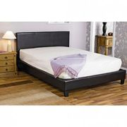Faux Leather Bed Frame King