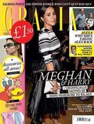 4 issues of Grazia magazine with free goody bag worth £82