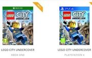 Cheapest Price LEGO CITY UNDERCOVER PS4 / XBOX ONE £31.95