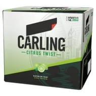 Carling Zest Crisp Citrus Lager 12x300 ml online