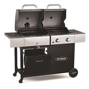 Outback Dual Fuel 2-Burner Gas and Charcoal BBQ Save £120