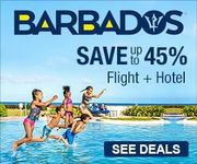 Save up to 45% On Flight + Hotel to Barbados