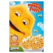 Honey Monster Puffs Cereal 320G (2 for £1.50)