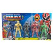 Poweranger Style Figure Set of 5