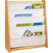HOME Beech Effect Sling Bookcase