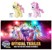 Beat the movie rush! Buy My Little Pony Plushes NOW! A FEW LEFT!