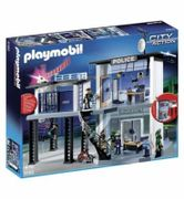 SAVE £22. Playmobil 5182 Police Station with Alarm System