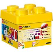 LEGO Classic Creative Bricks. Sturdy box. 221 bricks, windows, doors, wheels etc