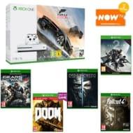 Xbox One S Forza Horizon 3 1TB Bundle + Destiny 2, 4 free games, & NowTV Pass