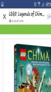 Lego Legends Of Chima The Power Of The Chi Dvd