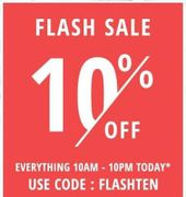 Get 10% Off Extra in Fragrance Direct Flash Sale