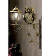 Solar lantern owl