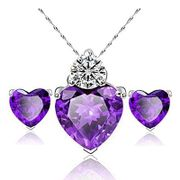 Lovely Pendent Necklace Set